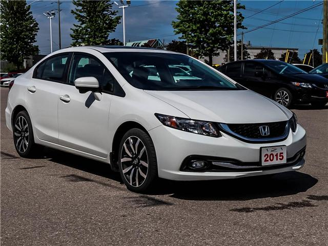 2015 Honda Civic Touring (Stk: 3331) in Milton - Image 3 of 24