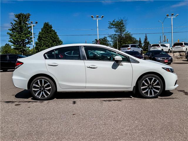 2015 Honda Civic Touring (Stk: 3331) in Milton - Image 4 of 24