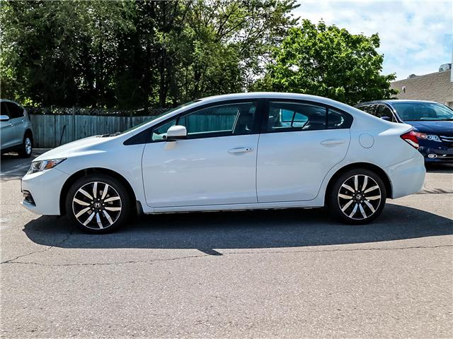 2015 Honda Civic Touring (Stk: 3331) in Milton - Image 7 of 24