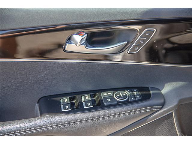 2017 Kia Sorento 3.3L SX+ (Stk: K570829A) in Surrey - Image 16 of 25