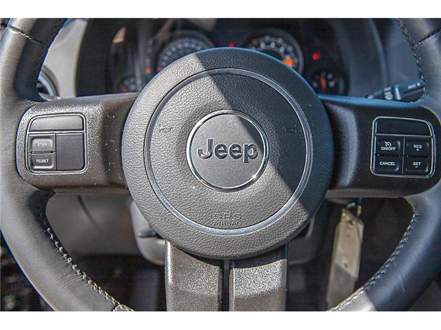 2017 Jeep Patriot 24G High Altitude Edition (Stk: K432995B) in Surrey - Image 16 of 22