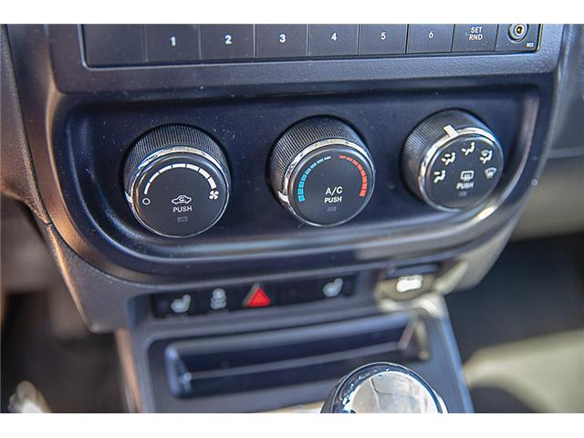 2017 Jeep Patriot Sport/North (Stk: K660388A) in Surrey - Image 20 of 23