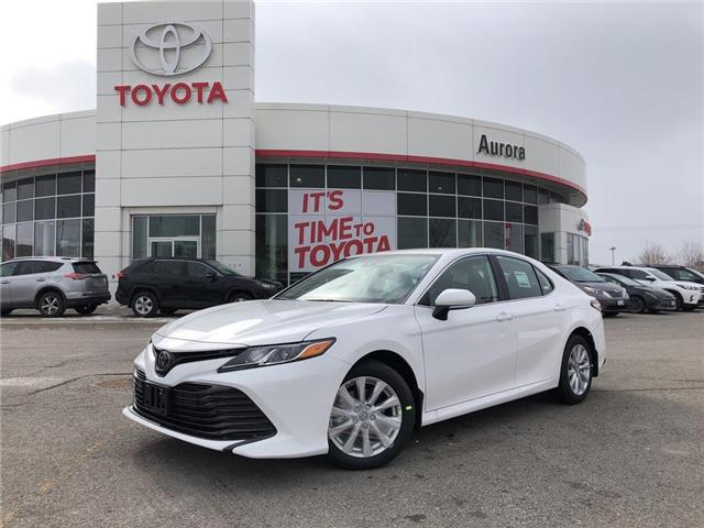 2019 Toyota Camry LE (Stk: 30696) in Aurora - Image 1 of 15