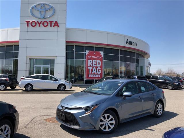 2020 Toyota Corolla LE (Stk: 30869) in Aurora - Image 1 of 15