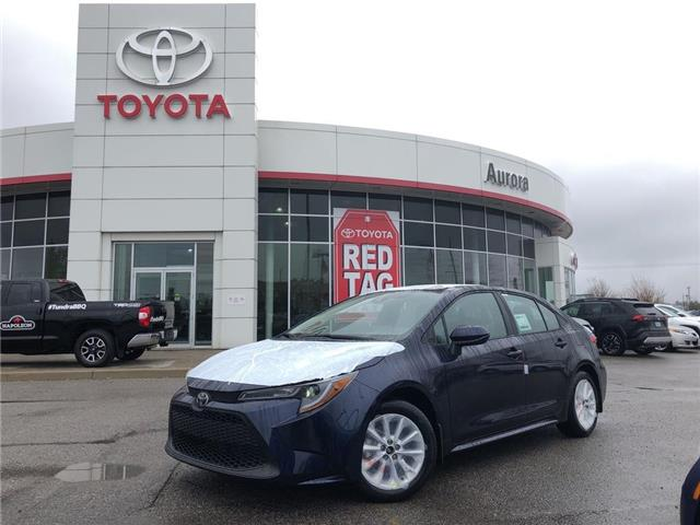 2020 Toyota Corolla LE (Stk: 30924) in Aurora - Image 1 of 15