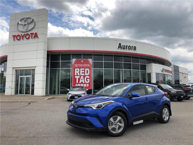 2019 Toyota C-HR XLE (Stk: 31007) in Aurora - Image 1 of 15