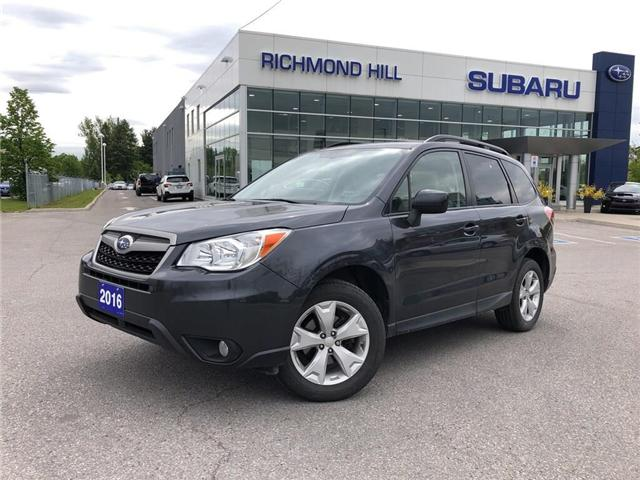 2016 Subaru Forester 2.5i Convenience Package (Stk: LP0271) in RICHMOND HILL - Image 1 of 23