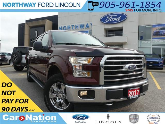 2017 Ford F-150 XLT | REAR CAMERA | 301A | 4X4 | BLUETOOTH | (Stk: P5018) in Brantford - Image 1 of 24