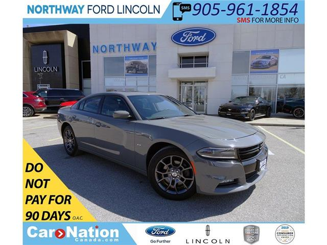 2018 Dodge Charger GT | AWD | NAV | PWR HTD SEATS | SUNROOF | (Stk: DR134) in Brantford - Image 1 of 46