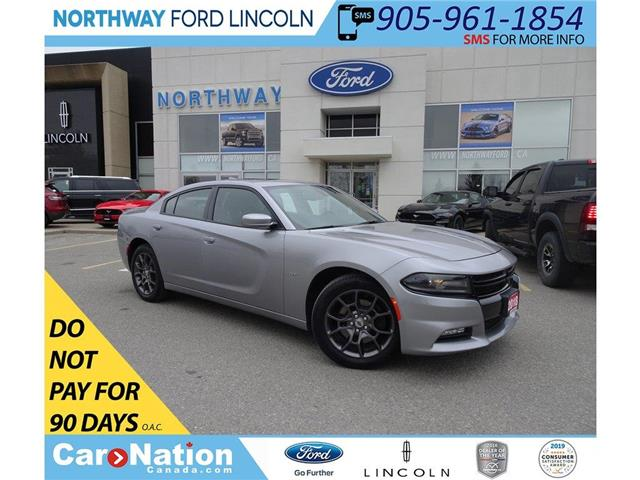 2018 Dodge Charger GT | AWD | NAV | PWR HTD SEATS | SUNROOF | (Stk: DR159) in Brantford - Image 1 of 46