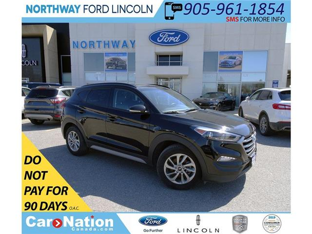 2018 Hyundai Tucson SE | AWD | HTD PWR LEATHER | PANO ROOF | (Stk: DR149) in Brantford - Image 1 of 42