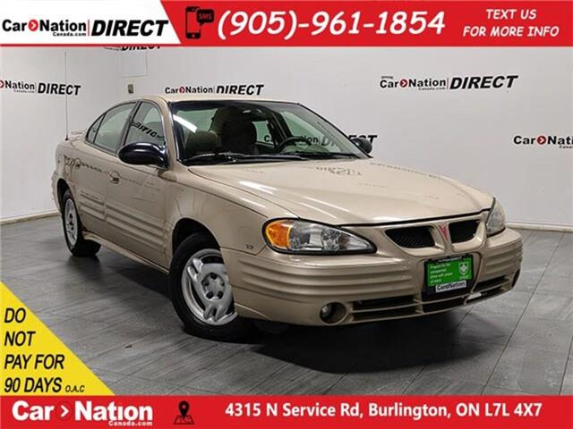 2002 Pontiac Grand Am SE1 (Stk: DRD2094A) in Burlington - Image 1 of 31