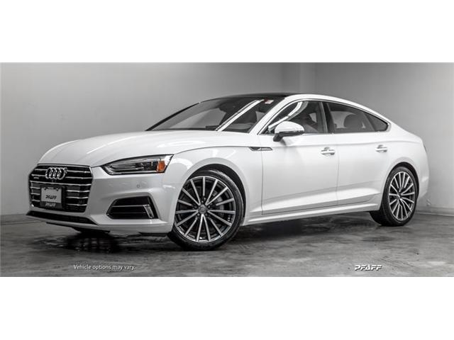 2019 Audi A5 45 Progressiv (Stk: T16571) in Vaughan - Image 1 of 21