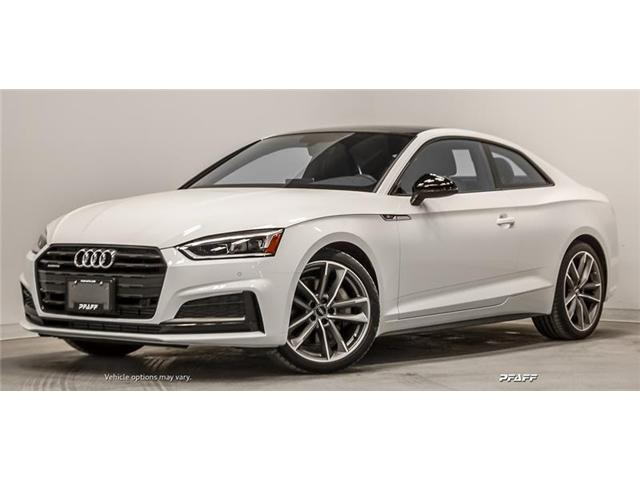 2019 Audi A5 45 Progressiv (Stk: T16856) in Vaughan - Image 1 of 22