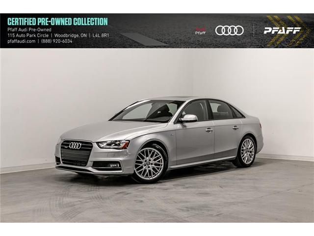 2015 Audi A4 2.0T Komfort plus (Stk: C6780) in Vaughan - Image 1 of 22