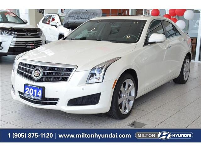 2014 Cadillac ATS 2.0L Turbo Luxury (Stk: 148115A) in Milton - Image 1 of 39
