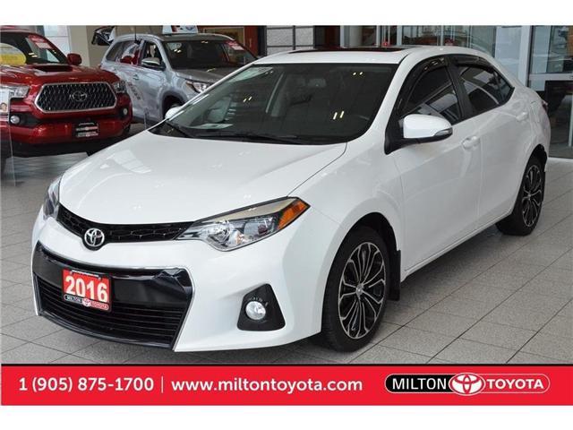 2016 Toyota Corolla  (Stk: 635088) in Milton - Image 1 of 42