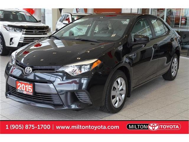 2015 Toyota Corolla  (Stk: 308502) in Milton - Image 1 of 39