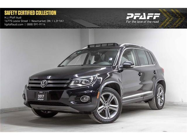2017 Volkswagen Tiguan Highline (Stk: A12015AA) in Newmarket - Image 1 of 22
