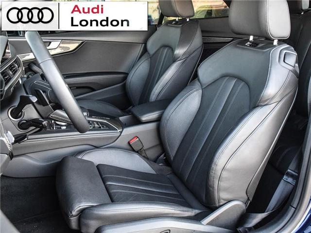 2018 Audi S5 3.0T Technik (Stk: Q08358A) in London - Image 9 of 25