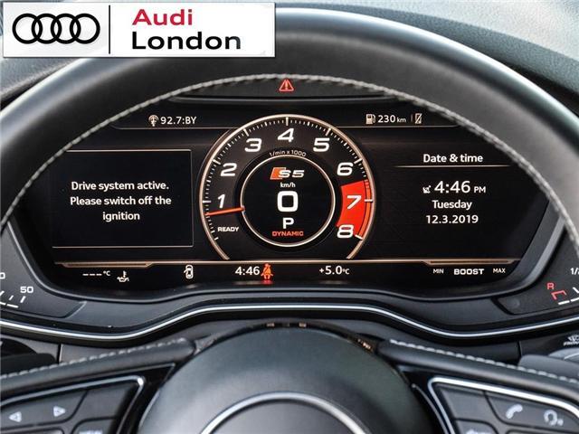 2018 Audi S5 3.0T Technik (Stk: Q08358A) in London - Image 17 of 25