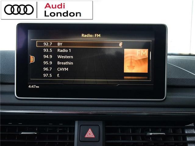 2018 Audi S5 3.0T Technik (Stk: Q08358A) in London - Image 20 of 25