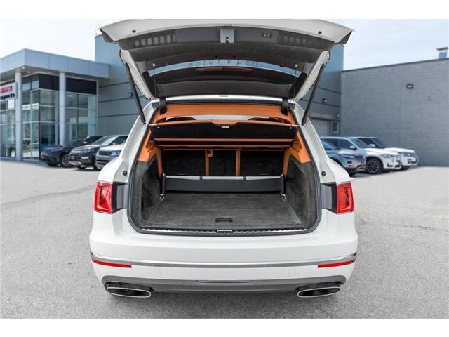 2018 Bentley Bentayga W12 NAIM AUDIO|NAVIGATION|PANO ROOF|600HP!! (Stk: 19MSX448) in Mississauga - Image 9 of 28