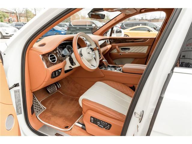 2018 Bentley Bentayga W12 NAIM AUDIO|NAVIGATION|PANO ROOF|600HP!! (Stk: 19MSX448) in Mississauga - Image 10 of 28