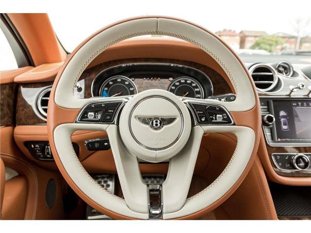 2018 Bentley Bentayga W12 NAIM AUDIO|NAVIGATION|PANO ROOF|600HP!! (Stk: 19MSX448) in Mississauga - Image 12 of 28