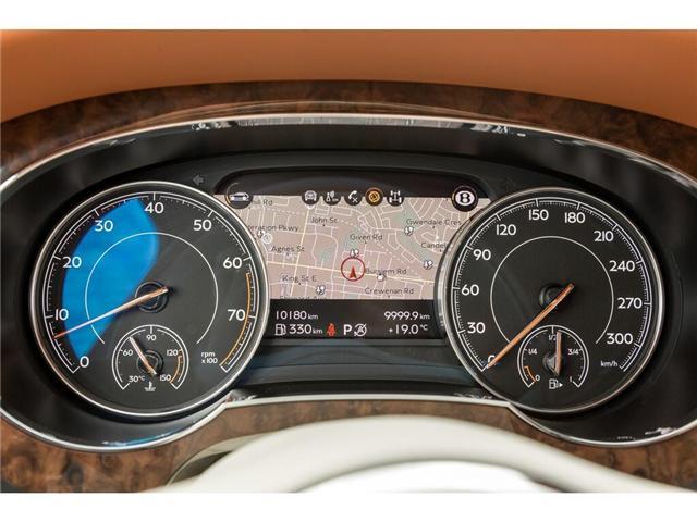 2018 Bentley Bentayga W12 NAIM AUDIO|NAVIGATION|PANO ROOF|600HP!! (Stk: 19MSX448) in Mississauga - Image 13 of 28