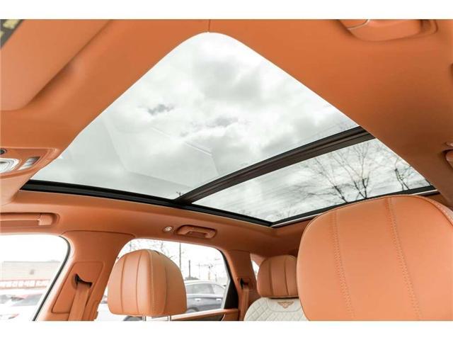 2018 Bentley Bentayga W12 NAIM AUDIO|NAVIGATION|PANO ROOF|600HP!! (Stk: 19MSX448) in Mississauga - Image 22 of 28