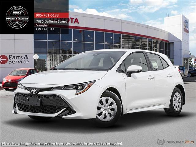 2019 Toyota Corolla Hatchback CVT (Stk: 68975) in Vaughan - Image 1 of 24