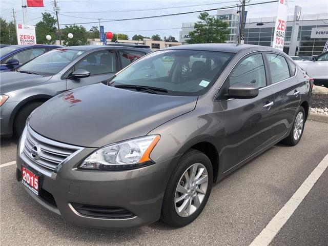 2015 Nissan Sentra  (Stk: P2325) in St. Catharines - Image 1 of 3