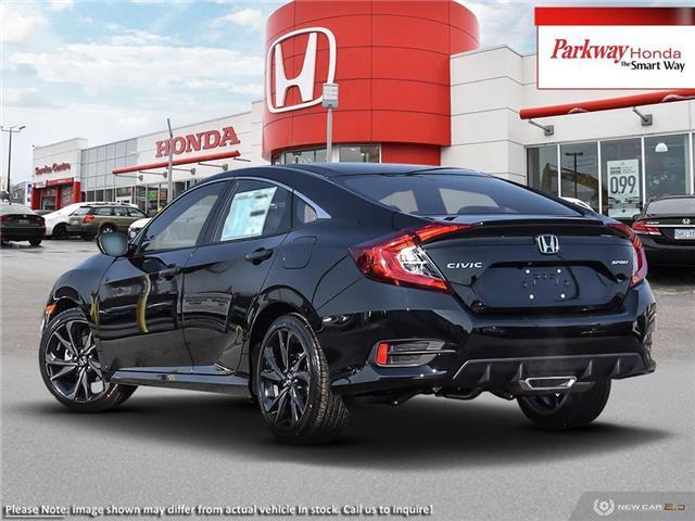 2019 Honda Civic Sport (Stk: 929486) in North York - Image 4 of 23