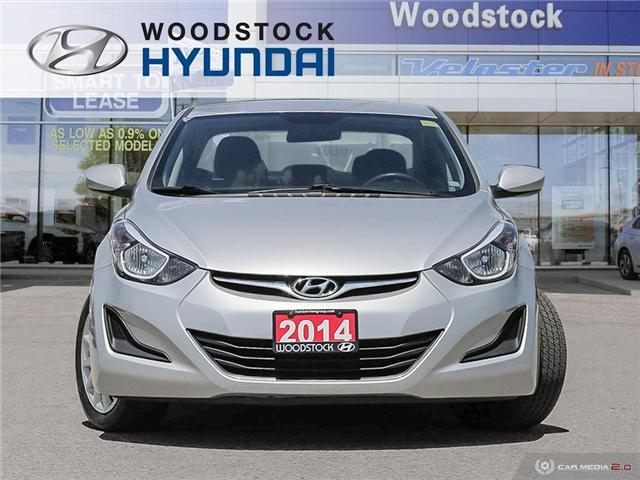 2014 Hyundai Elantra GL (Stk: P1423) in Woodstock - Image 2 of 27