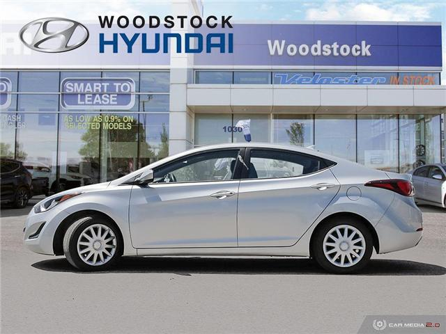 2014 Hyundai Elantra GL (Stk: P1423) in Woodstock - Image 3 of 27
