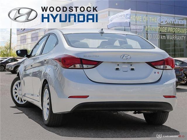 2014 Hyundai Elantra GL (Stk: P1423) in Woodstock - Image 4 of 27
