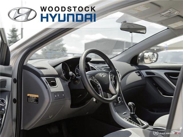 2014 Hyundai Elantra GL (Stk: P1423) in Woodstock - Image 6 of 27