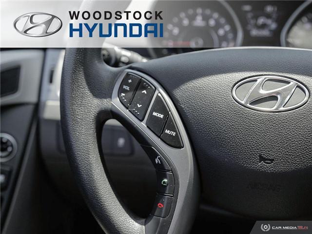 2014 Hyundai Elantra GL (Stk: P1423) in Woodstock - Image 11 of 27