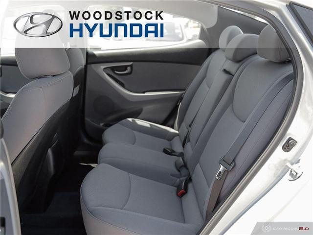 2014 Hyundai Elantra GL (Stk: P1423) in Woodstock - Image 17 of 27