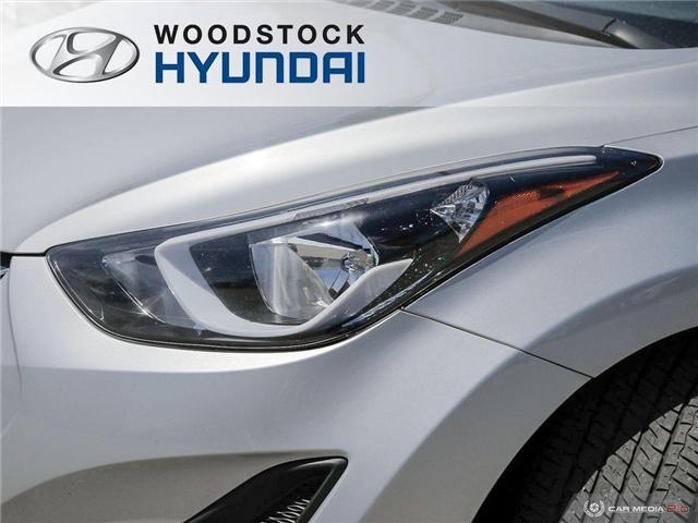 2014 Hyundai Elantra GL (Stk: P1423) in Woodstock - Image 25 of 27