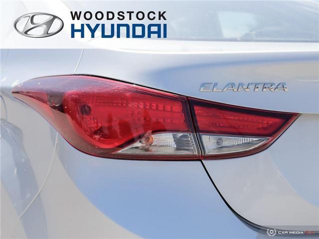 2014 Hyundai Elantra GL (Stk: P1423) in Woodstock - Image 27 of 27