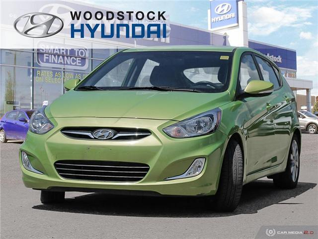 2014 Hyundai Accent GLS (Stk: P1431) in Woodstock - Image 1 of 27