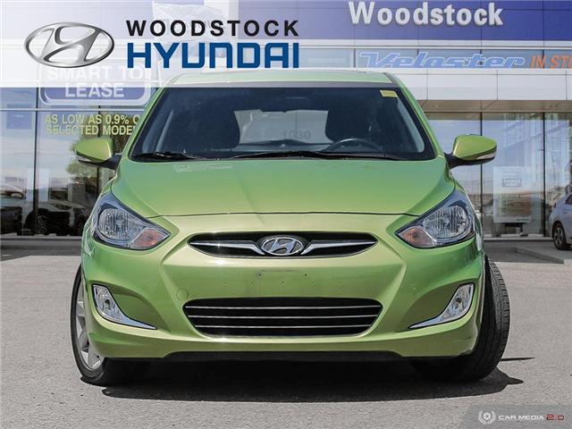 2014 Hyundai Accent GLS (Stk: P1431) in Woodstock - Image 2 of 27