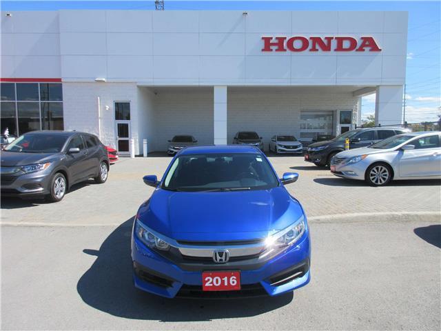 2016 Honda Civic LX (Stk: 27204L) in Ottawa - Image 2 of 12