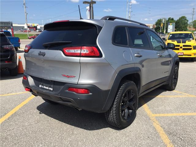2016 Jeep Cherokee Trailhawk (Stk: 24180T) in Newmarket - Image 5 of 21