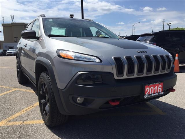 2016 Jeep Cherokee Trailhawk (Stk: 24180T) in Newmarket - Image 7 of 21