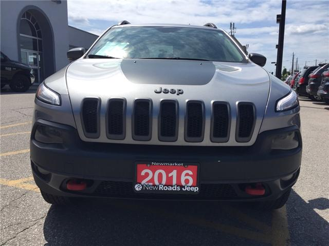 2016 Jeep Cherokee Trailhawk (Stk: 24180T) in Newmarket - Image 8 of 21
