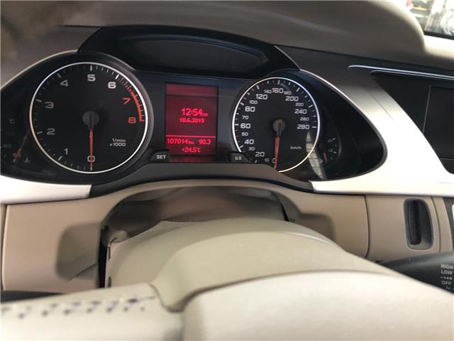 2012 Audi A4 2.0T Premium Plus (Stk: -) in Ottawa - Image 20 of 33