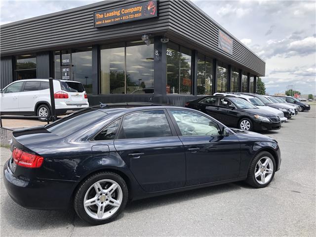 2012 Audi A4 2.0T Premium Plus (Stk: -) in Ottawa - Image 27 of 33